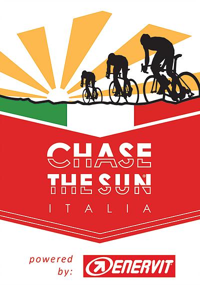Chase the Sun Italia Badge Chevron Logo